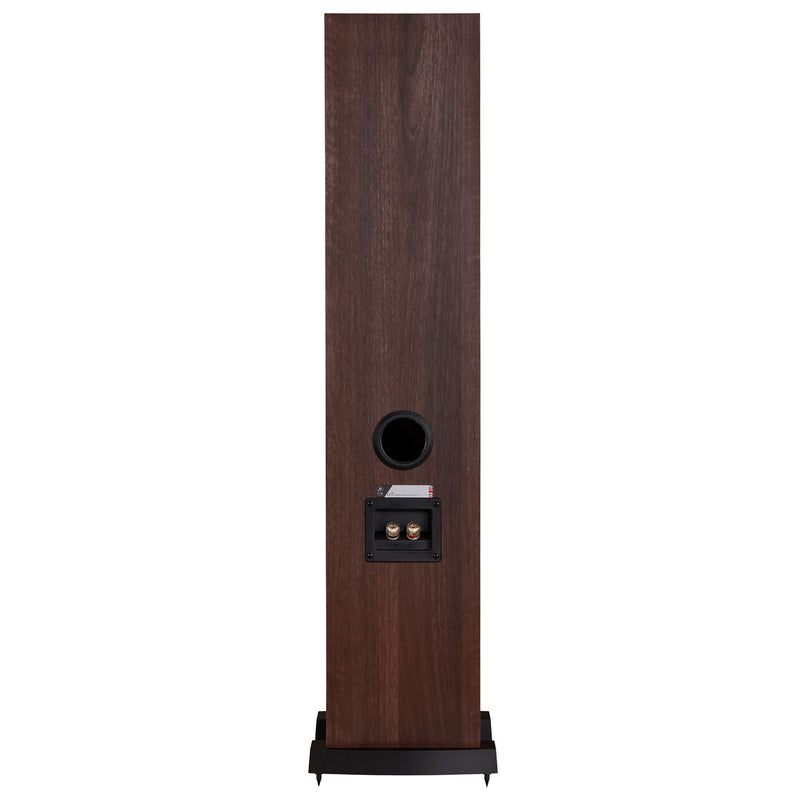 Fyne Audio F302 Floorstanding Speakers walnut rear