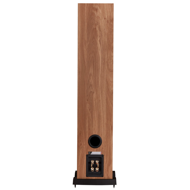 Fyne Audio F303 Floorstanding Speakers light oak rear