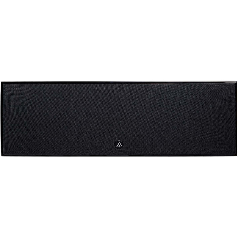 Fyne Audio F500C Centre Speaker piano gloss black front