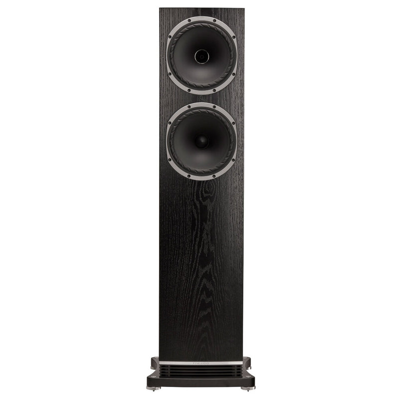 Fyne Audio F502 Floorstanding Speakers black oak