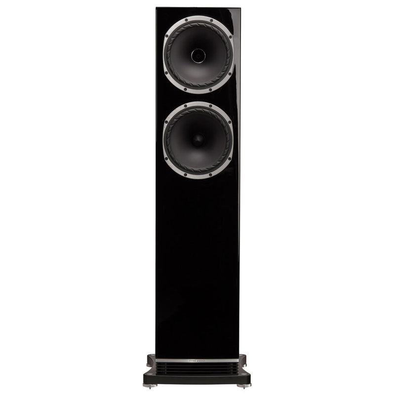 Fyne Audio F502 Floorstanding Speakers piano gloss black