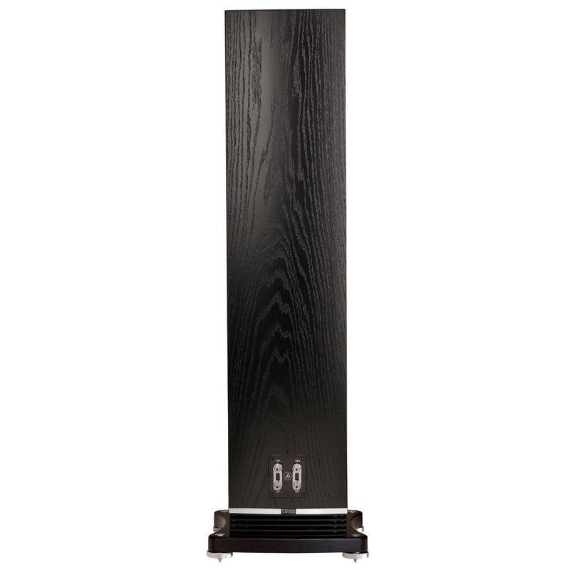 Fyne Audio F502 Floorstanding Speakers black oak rear