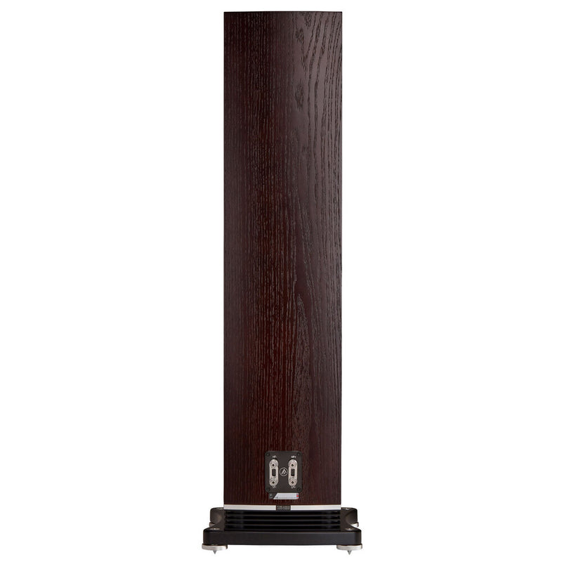 Fyne Audio F502 Floorstanding Speakers dark oak rear