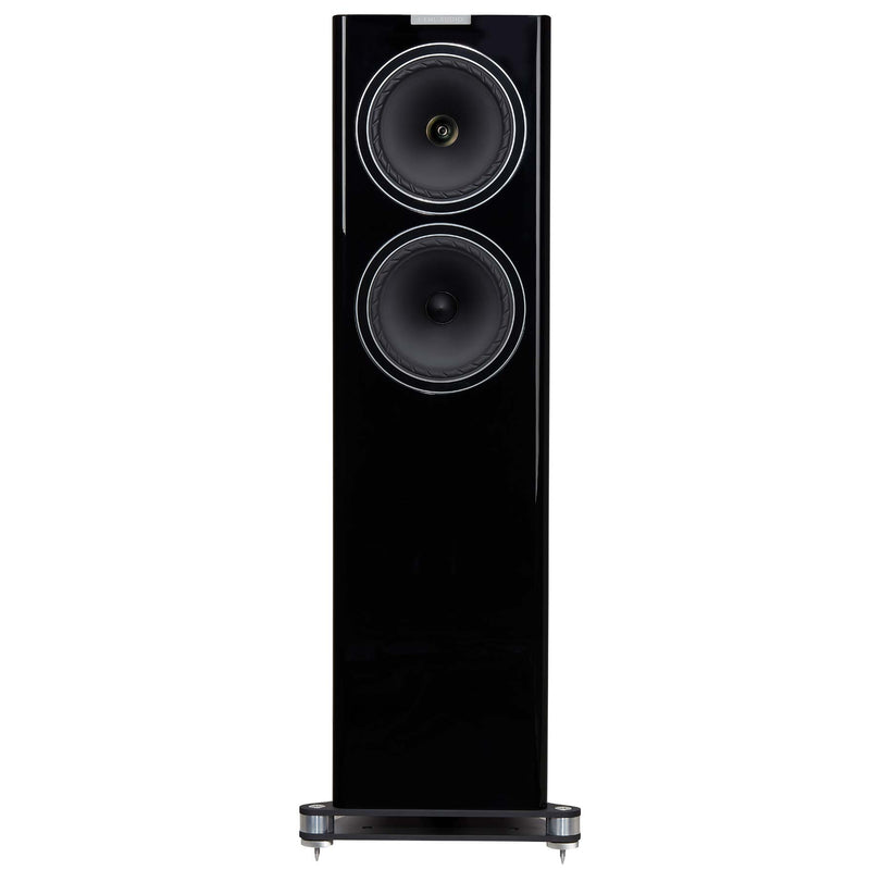 Fyne Audio F702 Floorstanding Speakers (pair) piano gloss black