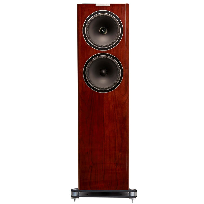 Fyne Audio F702 Floorstanding Speakers (pair) piano gloss walnut