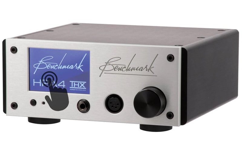 Benchmark HPA4 Headphone / Line Amplifier touch screen