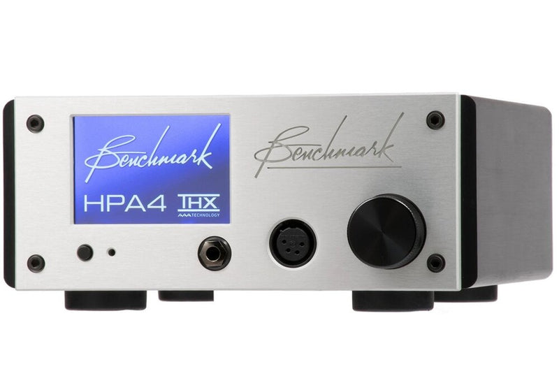 Silver Benchmark HPA4 Headphone / Line Amplifier angle view 2