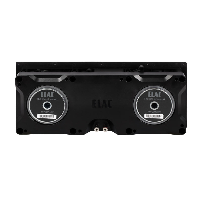 ELAC Vertex IW-VC51-W Dual In-Wall Center Speaker