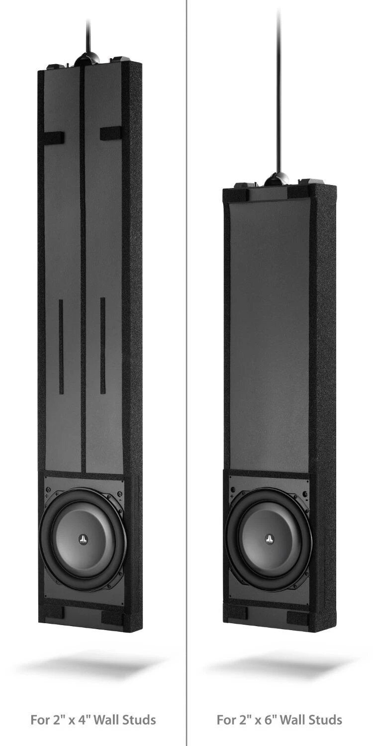 JL Audio IWSv2-SYS-113 In-Wall Subwoofer System with Single 13.5-inch Subwoofer wall studs