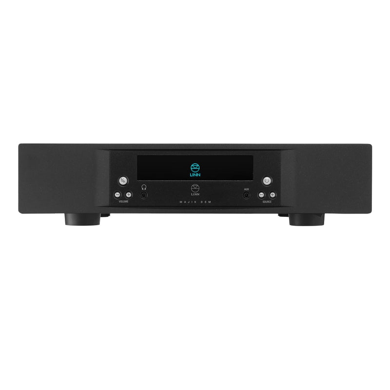 LINN Majik DSM - Streamer, Inputs and Integrated Amp black