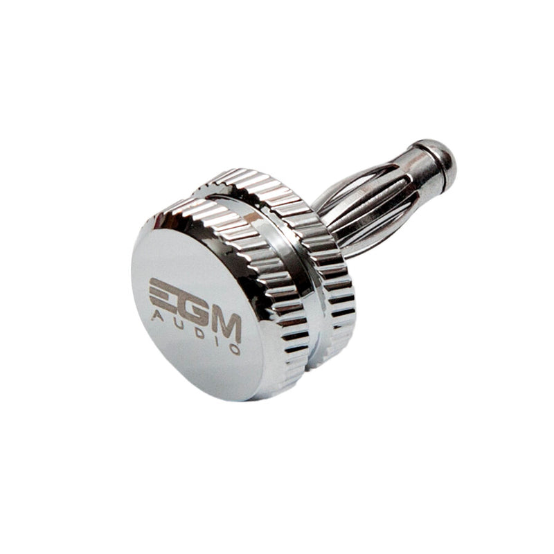 EGM Audio Rhodium Plated Banana Noise Stopper (1 pc)