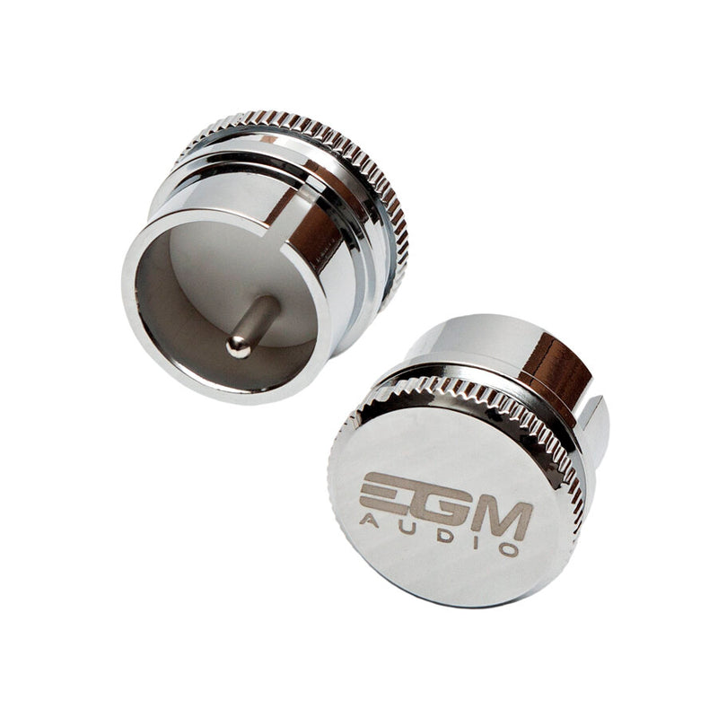 EGM Audio Rhodium Plated XLR Noise Stopper – Male (1 pc)