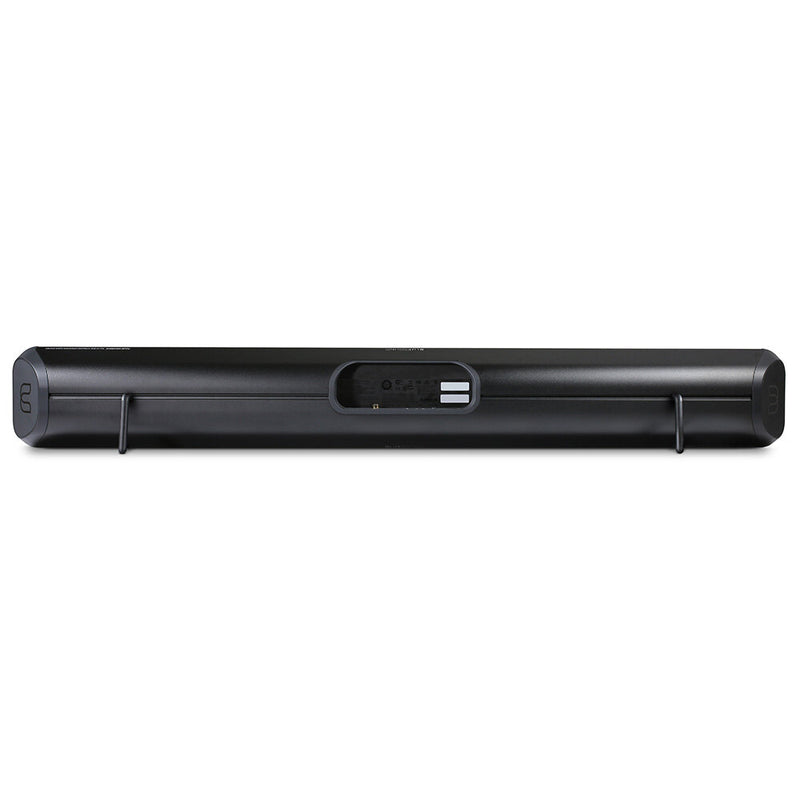 Bluesound PULSE SOUNDBAR 2i Wireless streaming soundbar black rear view