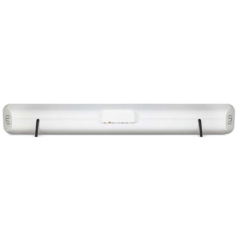 Bluesound PULSE SOUNDBAR 2i Wireless streaming soundbar white rear view
