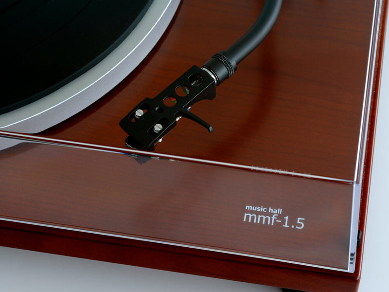 music hall mmf-1.5 turntable (cherry)
