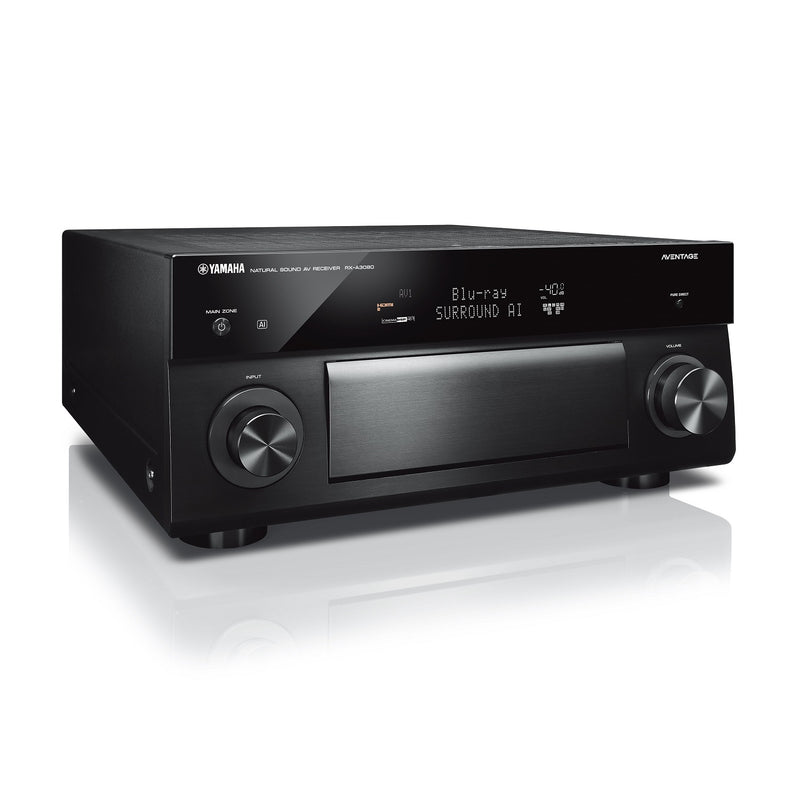 Yamaha RX-A3080 AVENTAGE 9.2-Channel Wireless AV Receiver with MusicCast (black)