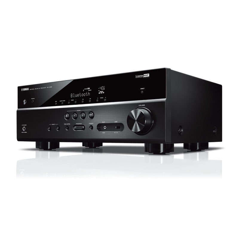 Yamaha RX-V385 5.1-Channel 100W Bluetooth 4K AV Receiver