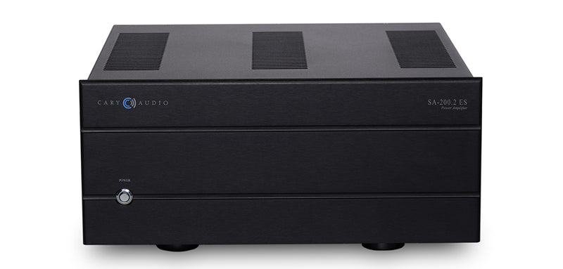 Cary Audio SA-200.2 ES 2 x 200W @ 8Ohm, 350W@ 4 Ohms Power Amplifier