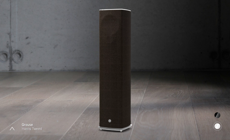 LINN 520 Speaker grouse white