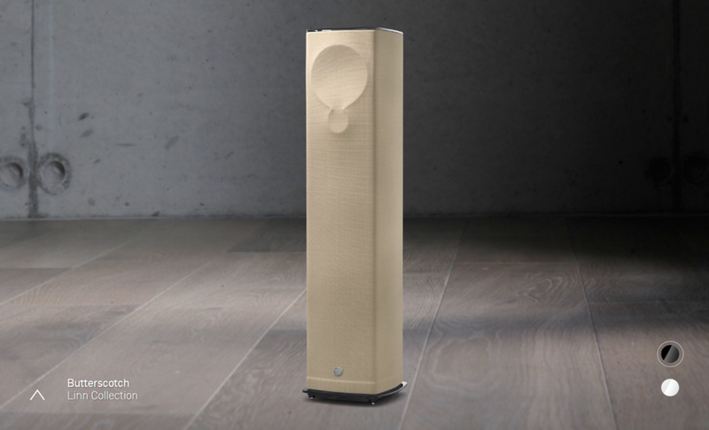 LINN 520 Speaker Butterscotch