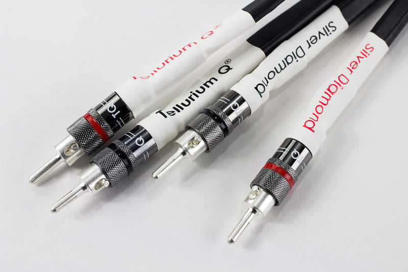 Tellurium Q Silver Diamond Speaker Cable (2.5m, pair)