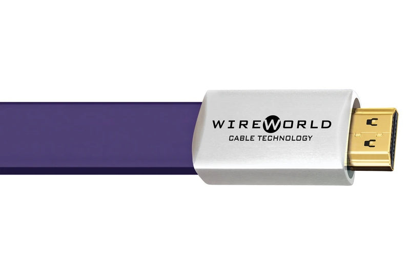 Wireworld Ultraviolet™ 7 HDMI (UHH) Audio/Video 4K/18Gbps/HDR Cable