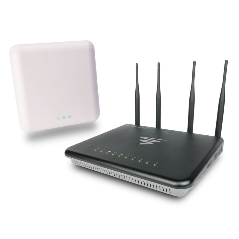 Luxul WS-260 Whole Home WiFi System AC3100 Wireless Router/Controller and AC3100 Apex™ Access Point