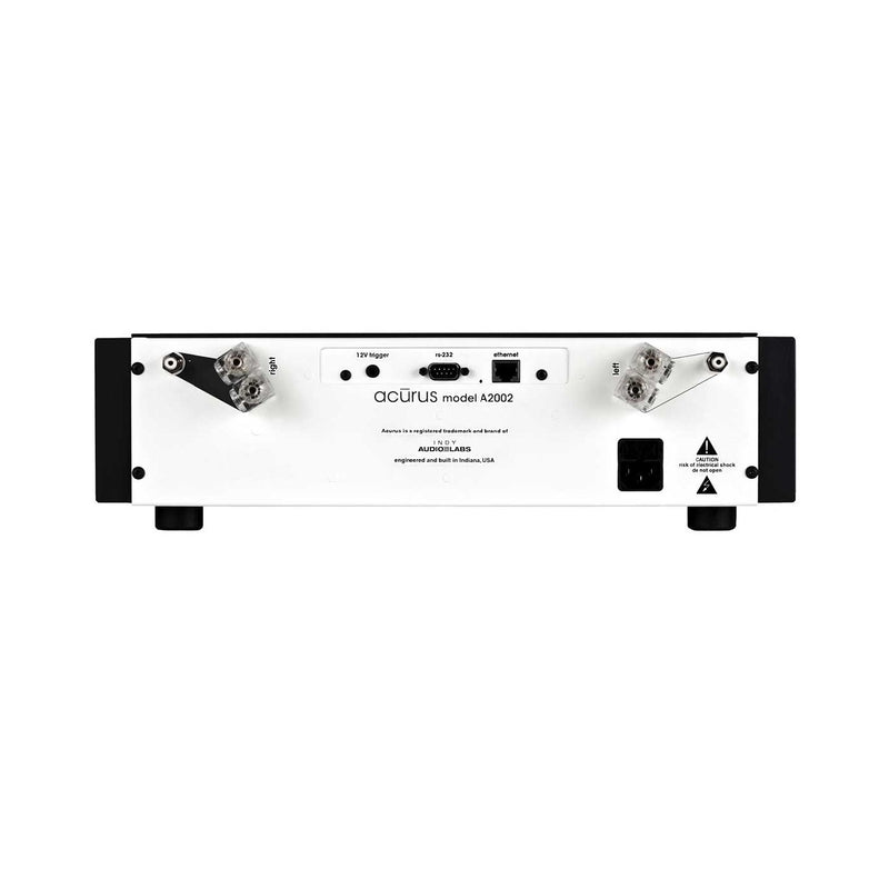 Acurus A2002 2-channel 200Wx2 smart power amplifier