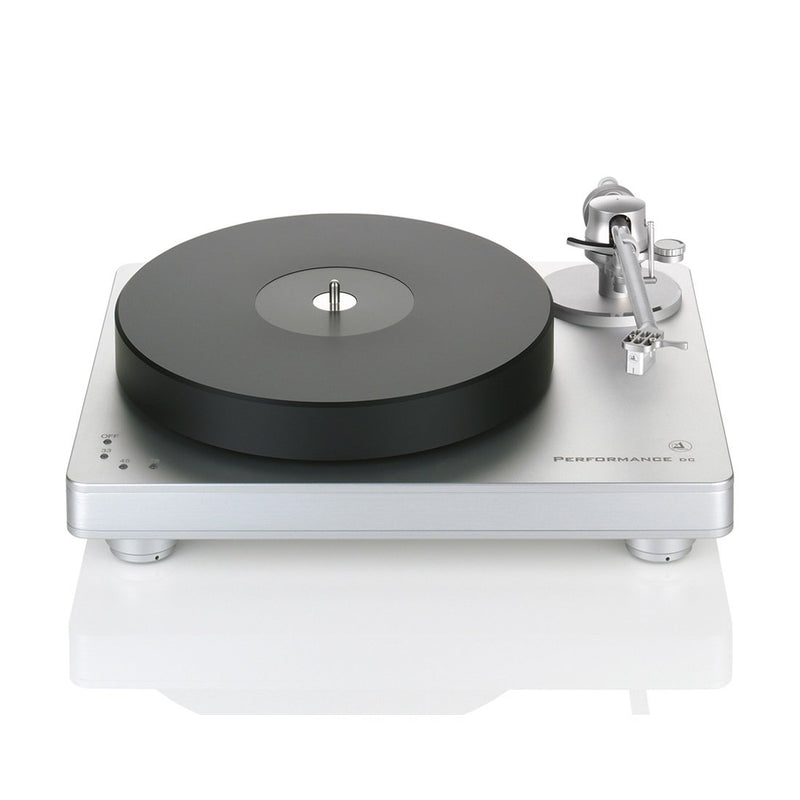 Clearaudio Performance DC with Radial Armboard Turntable (silver base and trim)