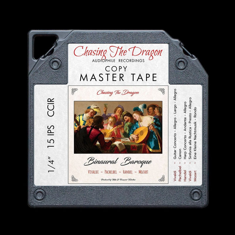 Binaural Baroque Chasing The Dragon Binaural Master Quality Reel to Reel Tape