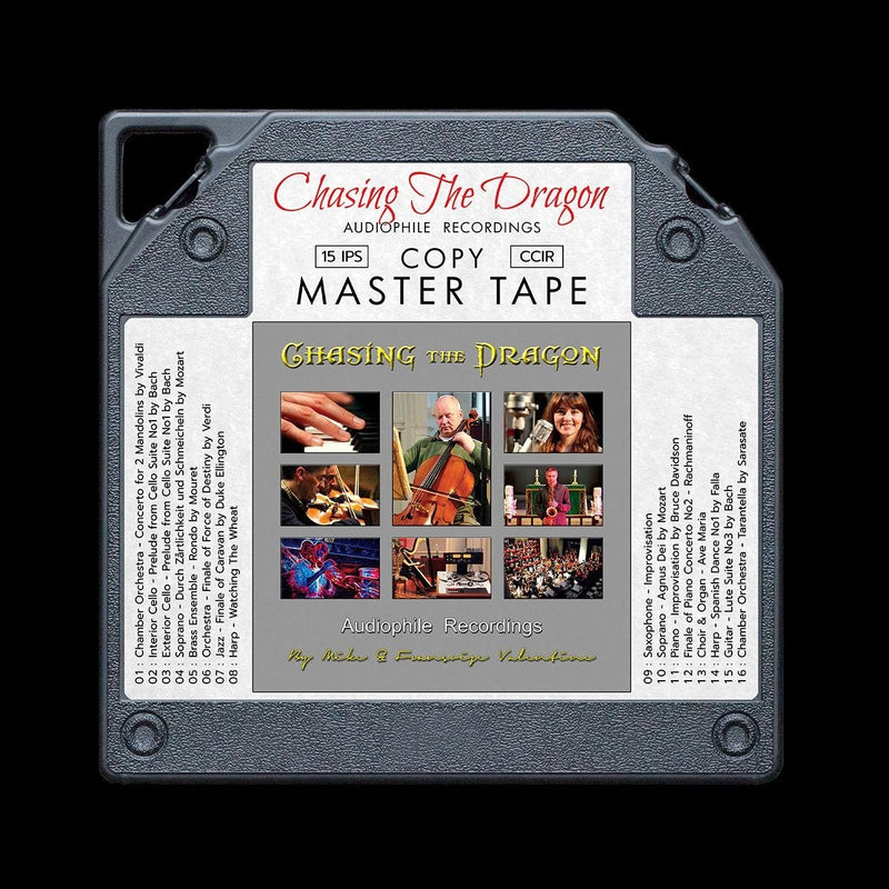 Chasing the Dragon Audiophile Demonstration Master Quality Reel to Reel Tape