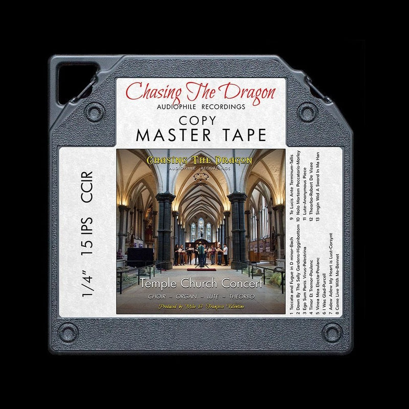 Temple Church Chasing The Dragon Master Quality Reel to Reel Tape