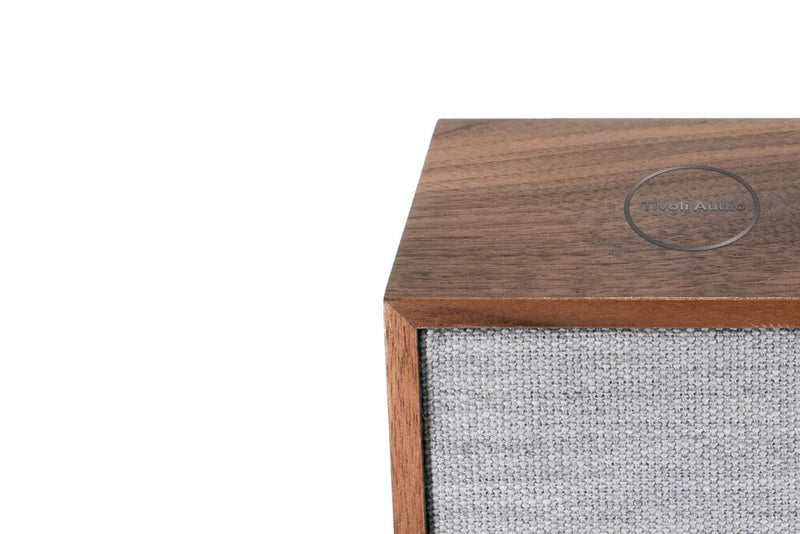 Tivoli Cube Wireless Speaker walnut edge