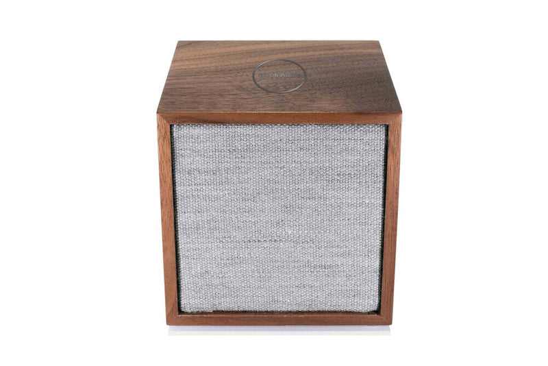 Tivoli Cube Wireless Speaker walnut top front