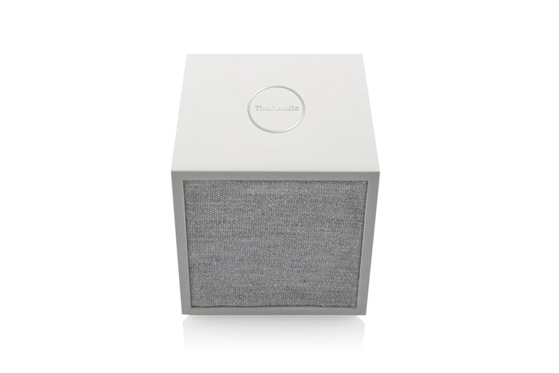 Tivoli Cube Wireless Speaker white top front