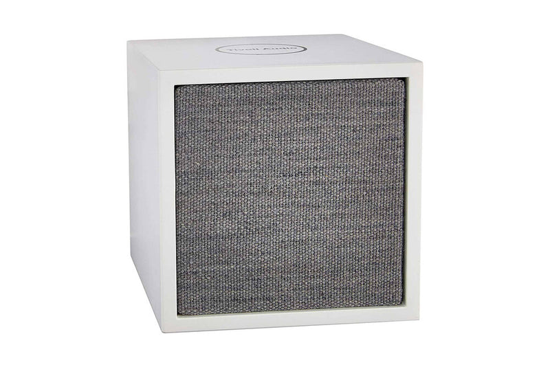 Tivoli Cube Wireless Speaker white left angle