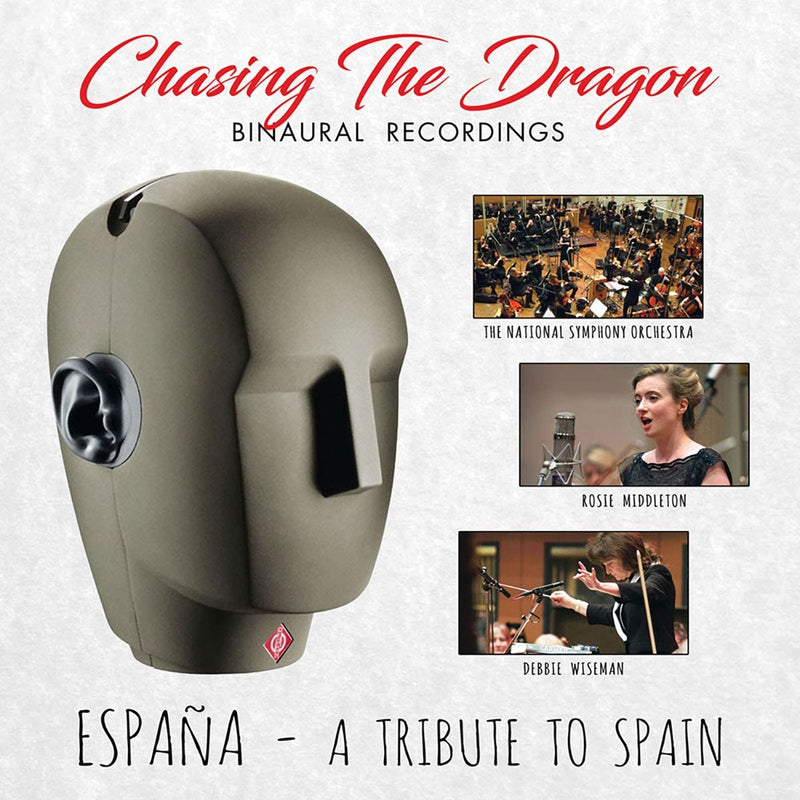 Espana: A Tribute to Spain Chasing The Dragon Binaural CD