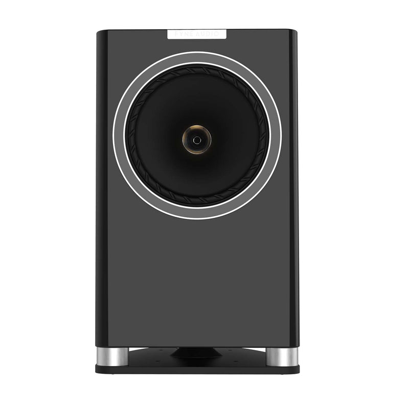 Fyne Audio F701 Bookshelf Speakers with Stands (pair) piano gloss black