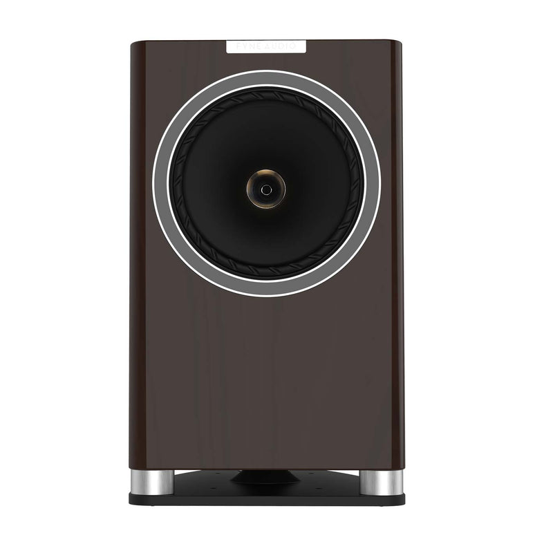 Fyne Audio F701 Bookshelf Speakers with Stands (pair) piano gloss walnut