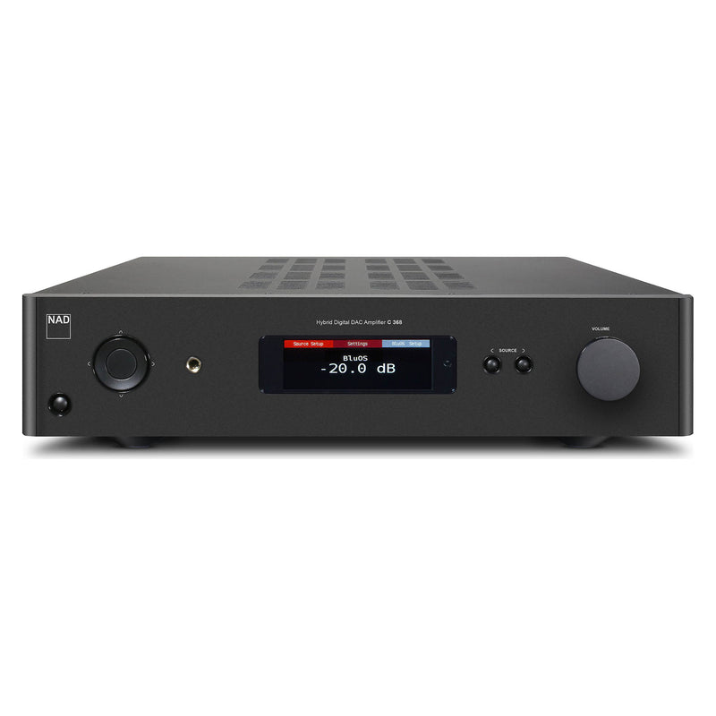 NAD C 368 Integrated Amplifier with BLU-OS installed