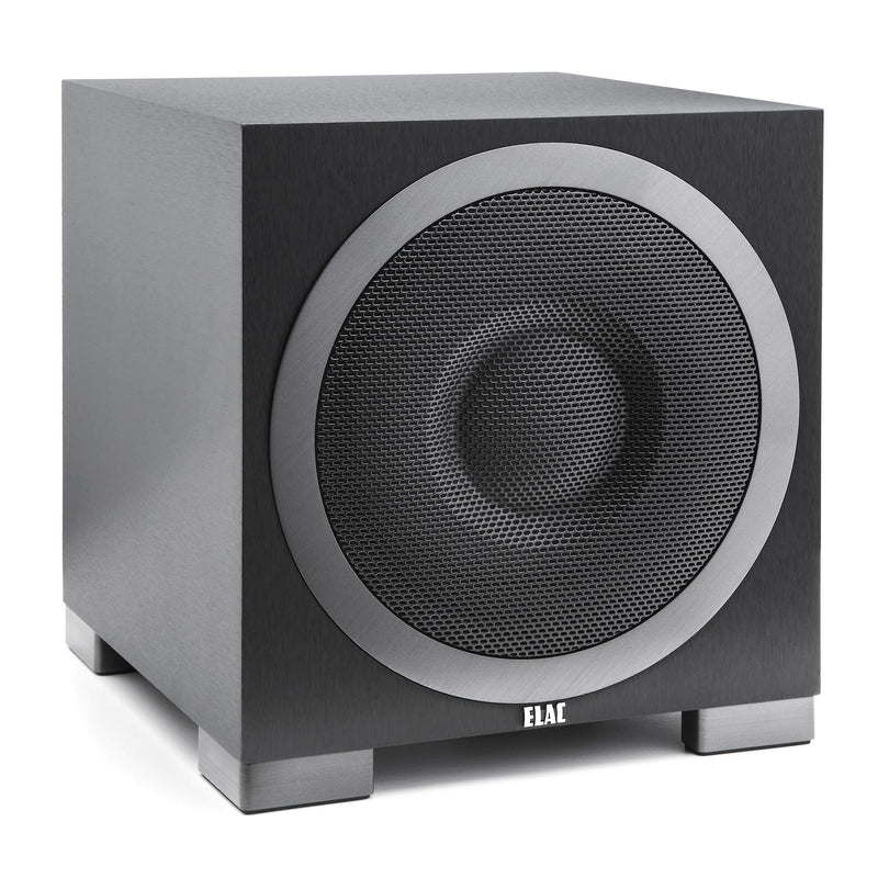"ELAC Debut S10EQ 10"" Powered subwoofer with Bluetooth® control and auto EQ"