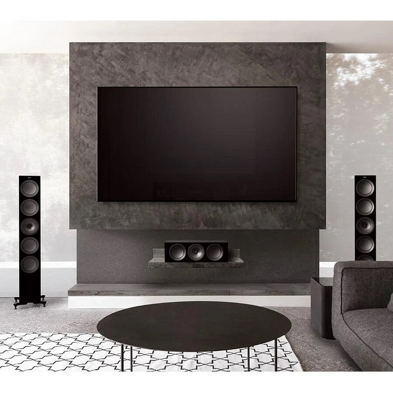 KEF R11 Flagship Three-way Floorstander home theatre display
