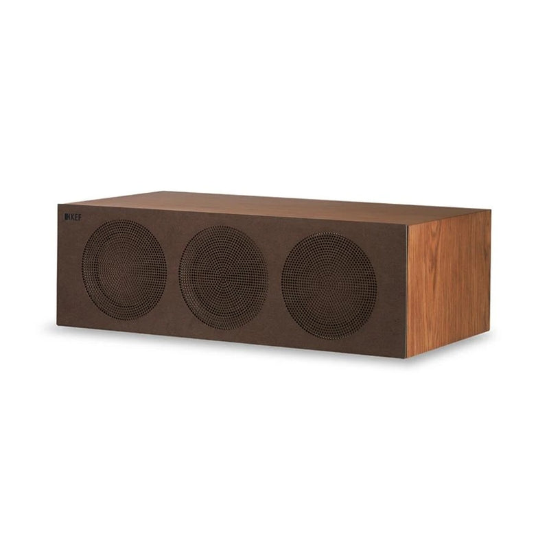 KEF R2c Three-way Centre Channel Walnut
