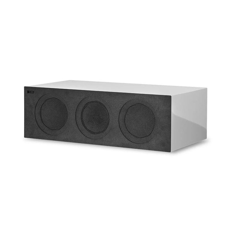 KEF R2c Three-way Centre Channel White Gloss