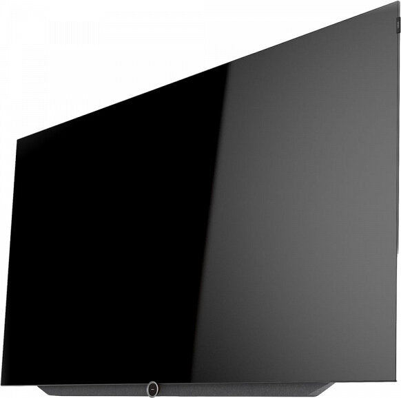 "Loewe bild 7 55"" OLED TV (includes wall bracket) side view no stand"