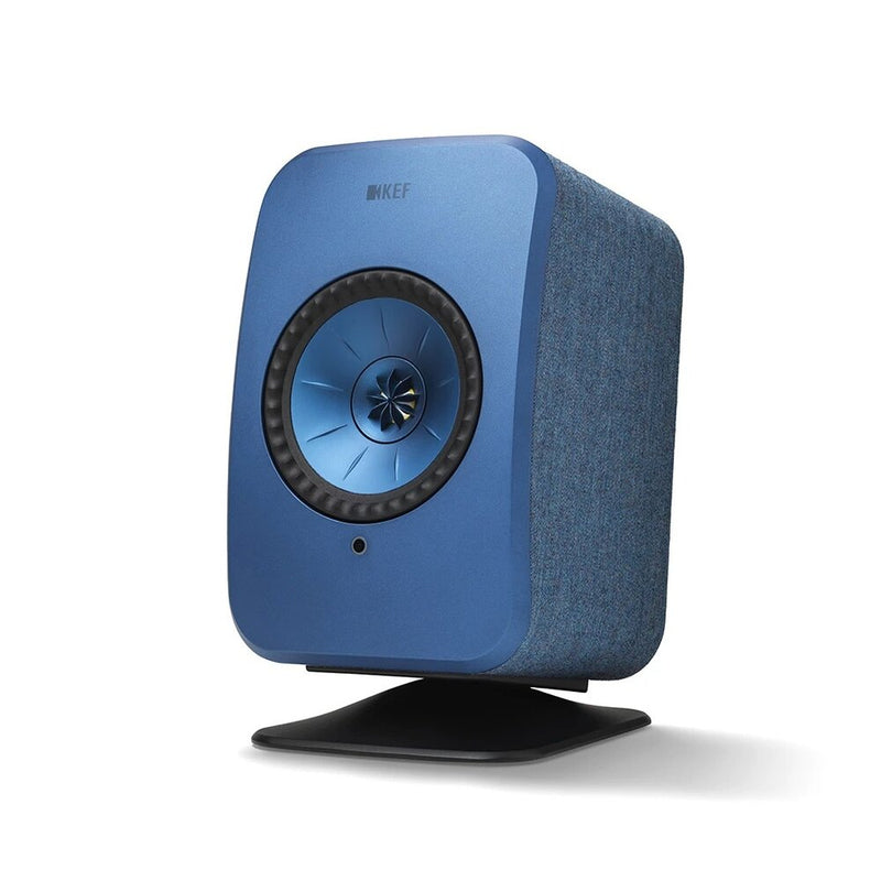 Blue KEF P1 Desk Pad for LSX