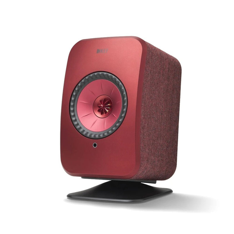 Red KEF P1 Desk Pad for LSX