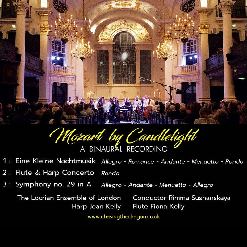 Mozart by Candlelight Chasing The Dragon Binaural CD