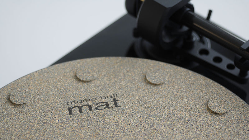 Cork Mat with 12 Isolation Discs