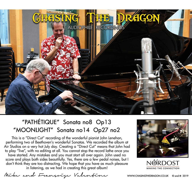 Beethoven Piano Sonatas: Pathetique & Moonlight Live Chasing The Dragon CD